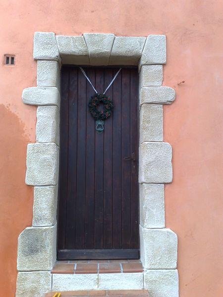 Célèbre Encadrement en pierre porte d'entrée Marseille Aix-en-Provence  EP48